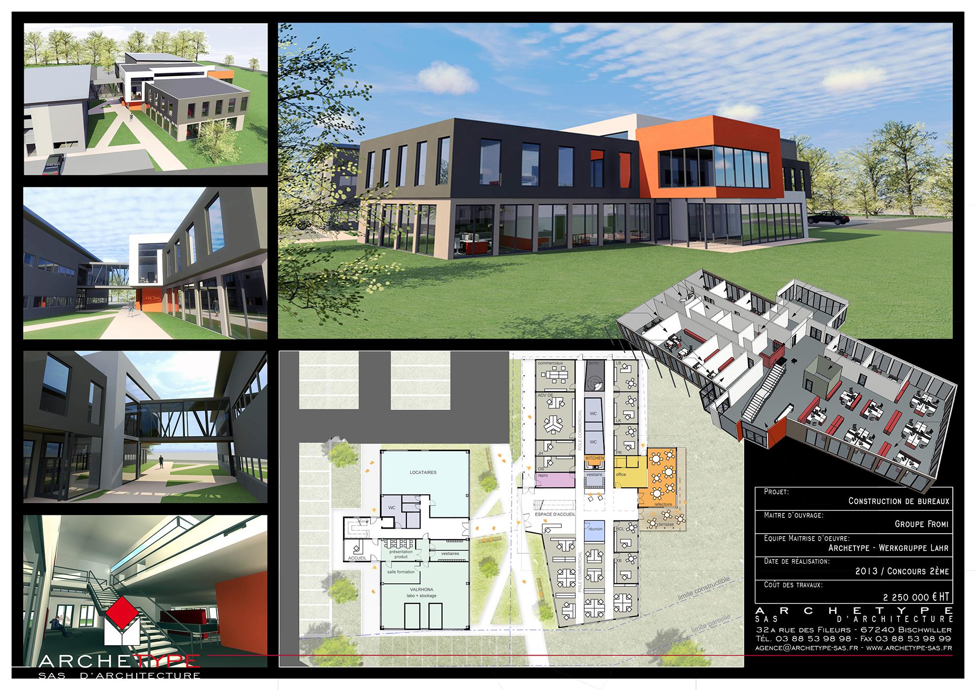 Construction Bureaux - Lahr