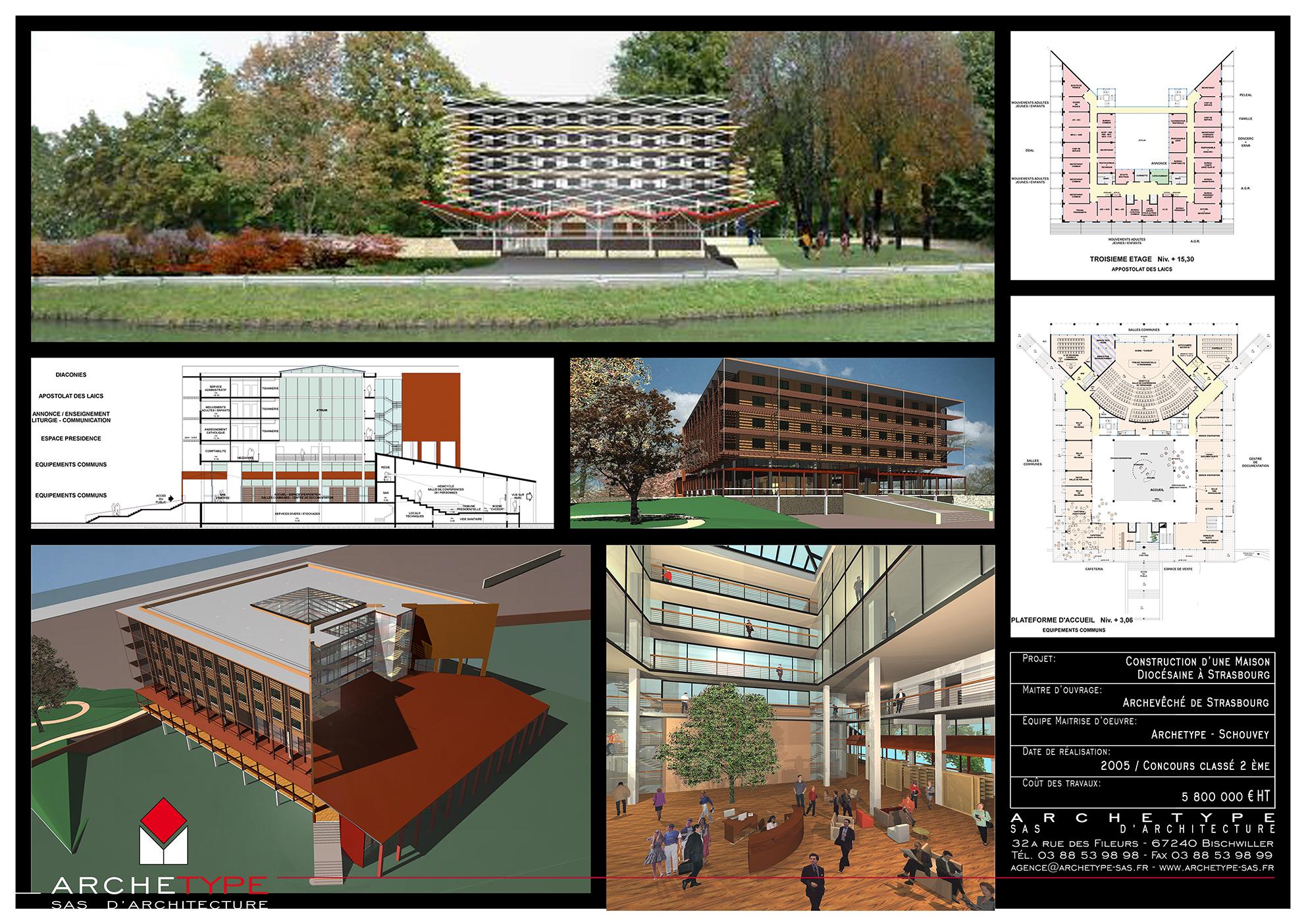 Construction Maison diocèsaine - Strasbourg