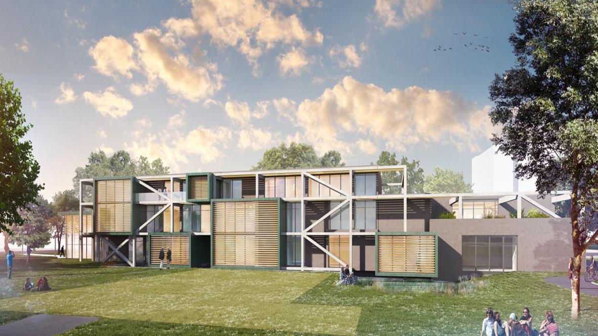 Construction bureaux - Strasbourg 2