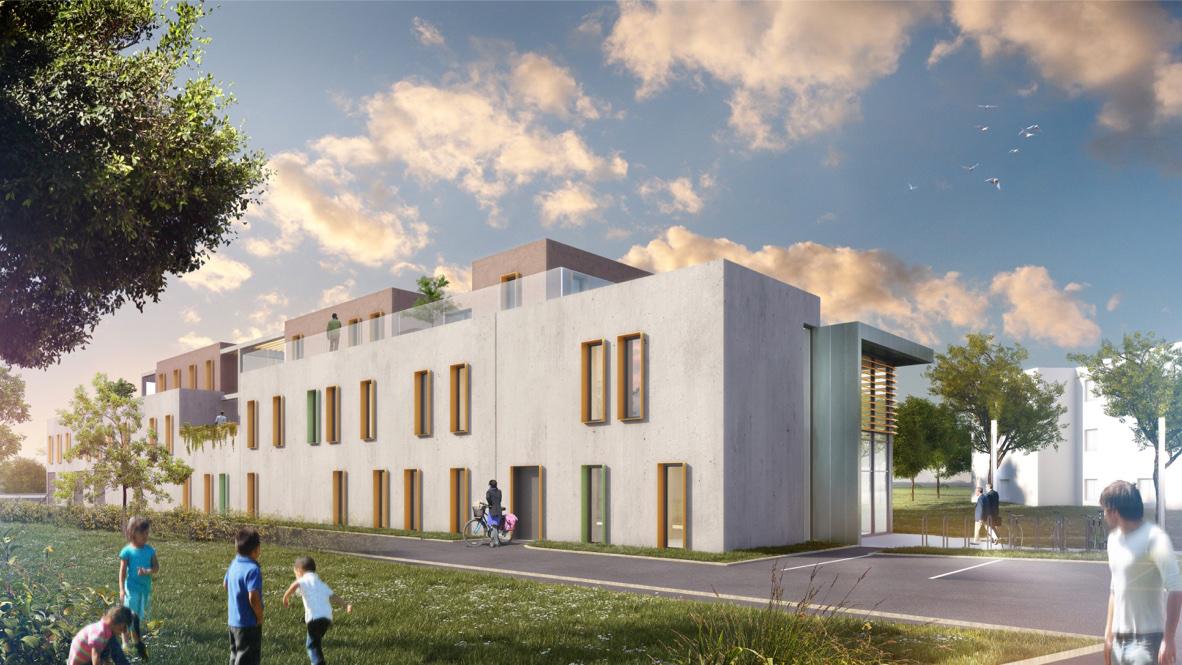 Construction bureaux - Strasbourg 3