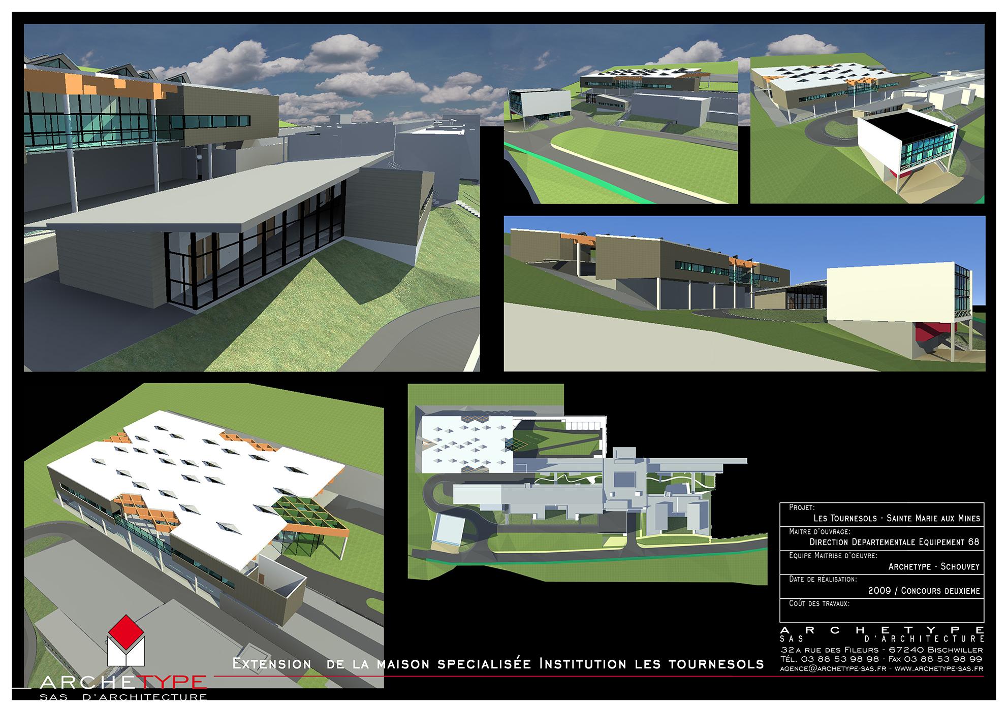 Extension Maison Spécialisée - Sainte-Marie aux Mines